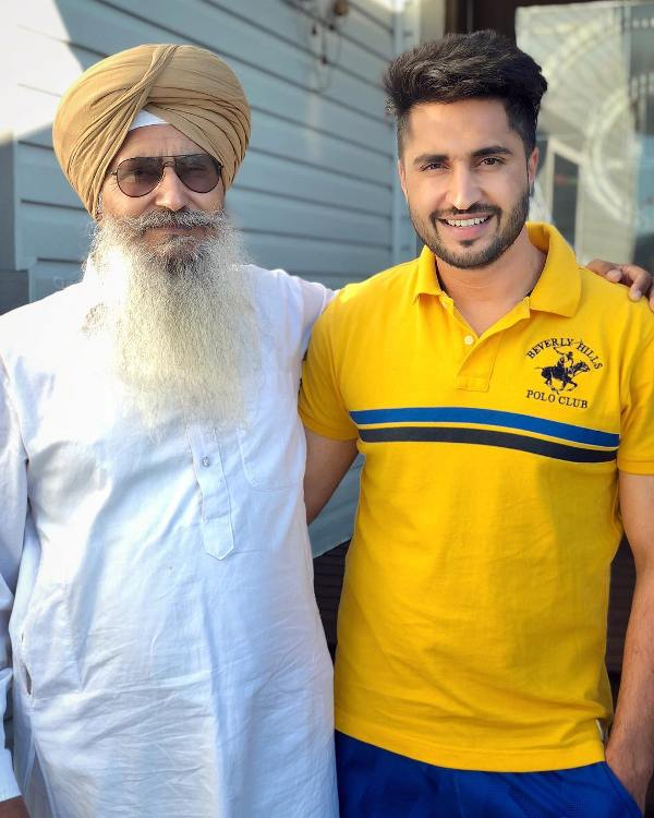 Jassie Gill with his father