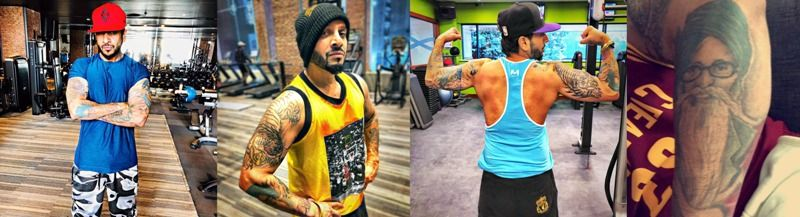 Jazzy B tattoos