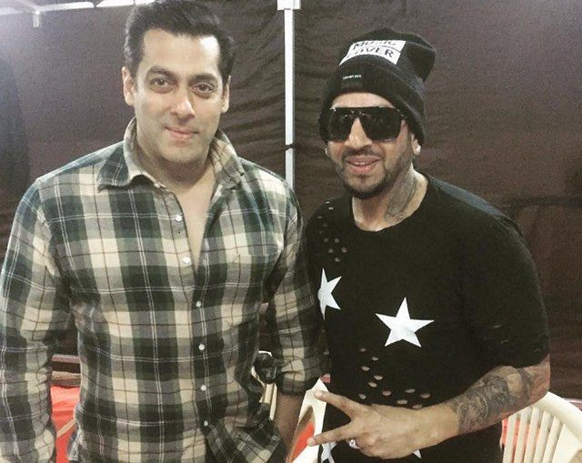 Jazzy B with Salman Khan