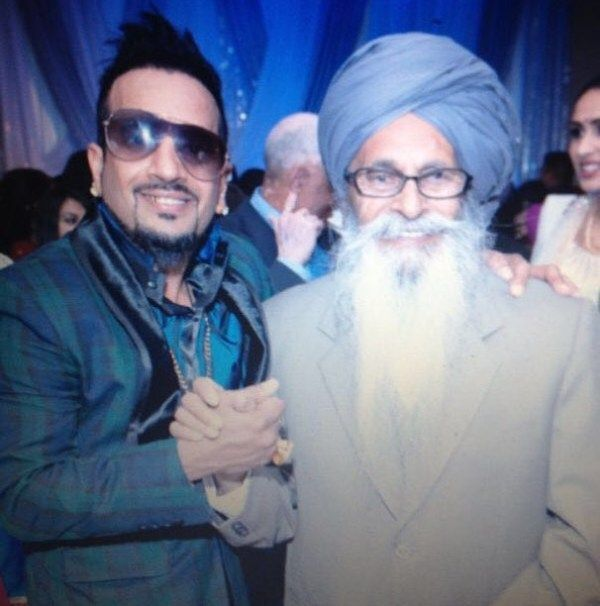 Jazzy B with his father
