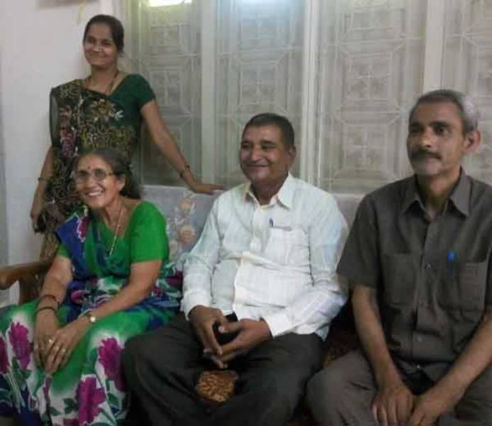 Joshodaben With Her Brothers