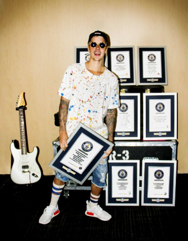 Justin Bieber And His Guinness World Records