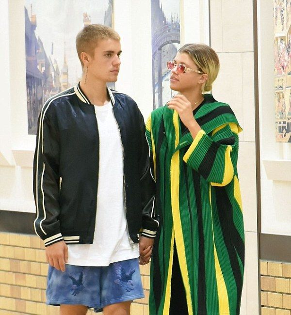 Justin Bieber With His Ex-Girlfriend, Sofia Richie