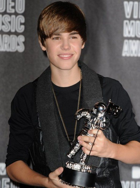 Justin Bieber With His VMA