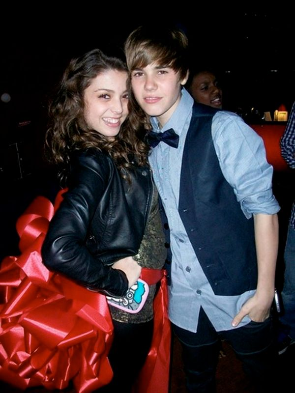 Justin Bieber With Jacque Pyles