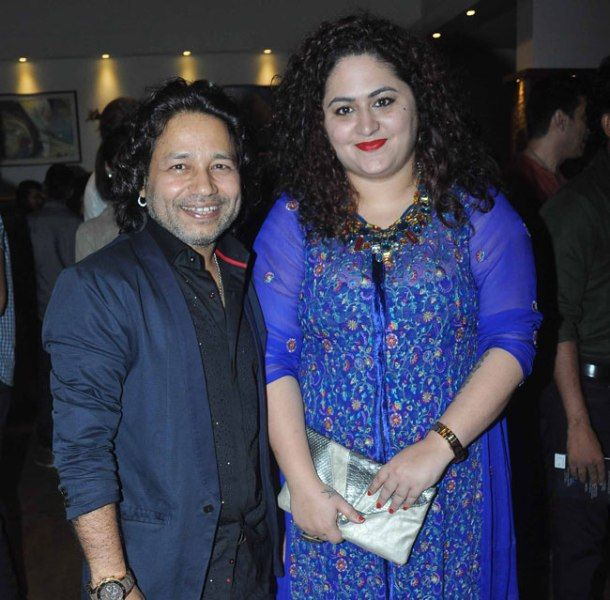 Kailash Kher With His Wife, Sheetal