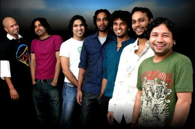 Kailash with the Band Members of Kailasa