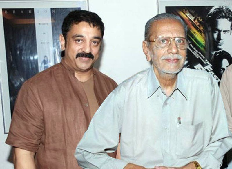 Kamal Haasan With His Brother, Charuhasan