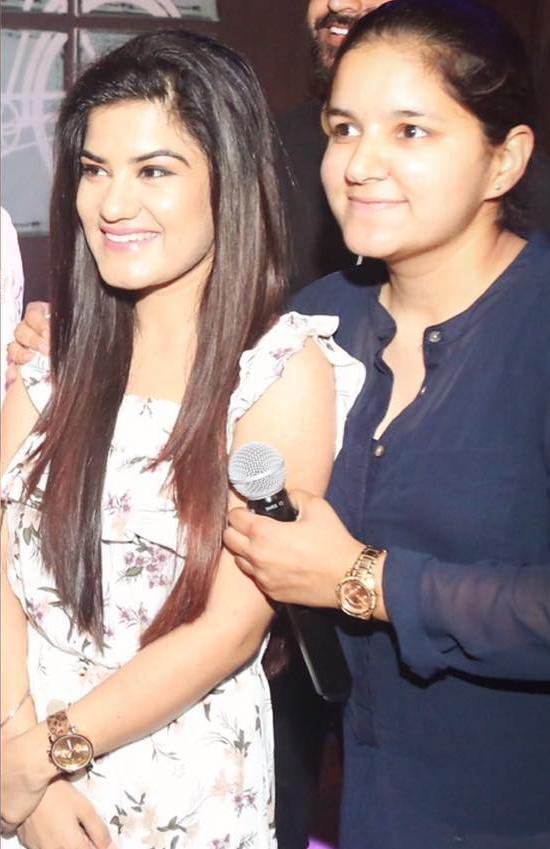 Kaur B with her sister