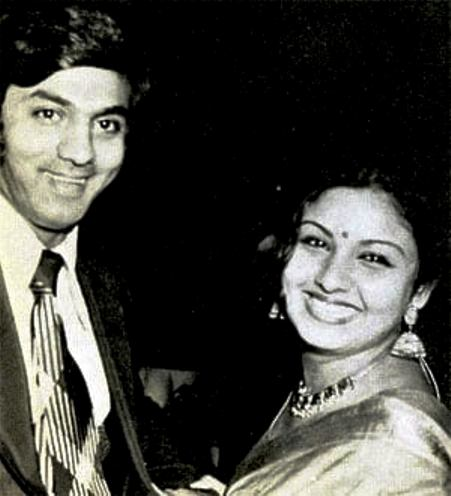 Leena Chandavarkar With Siddharth Bandodkar