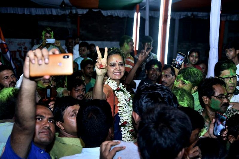 Mahua Moitra After Winning The 2016 Assembly Elections