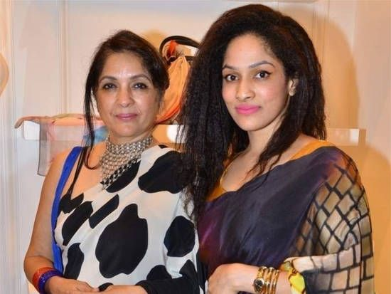 Masaba Gupta with her mother
