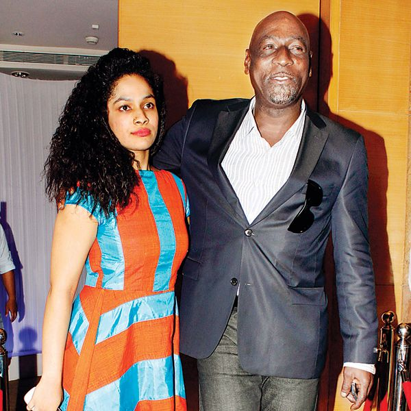 Masaba with her father, Viv Richards