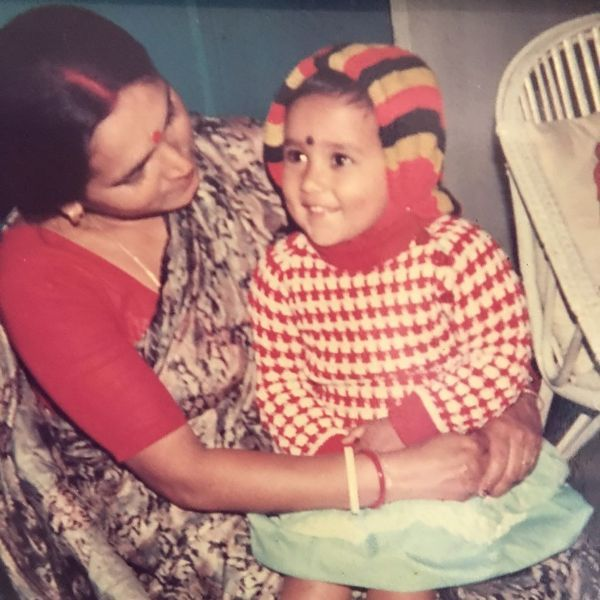 Mimi Chakraborty As A Child