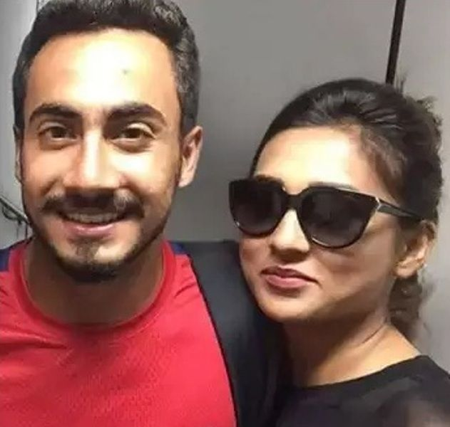 Mimi Chakraborty With Melih Kizilkaya