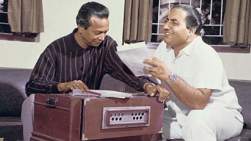 Mohammed Rafi with Naushad