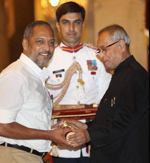 Nana Patekar Receiving Padma Shri
