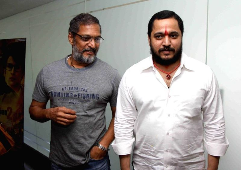 Nana Patekar With His Son Malhar Patekar
