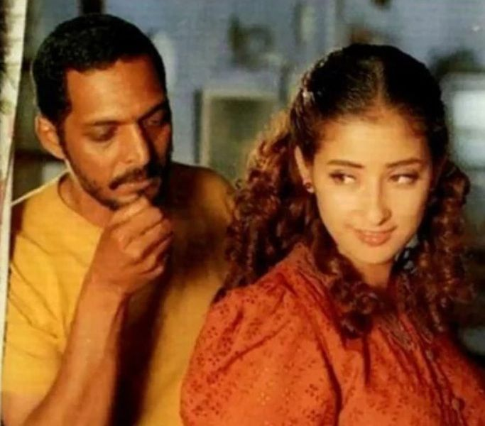 Nana Patekar With Manisha Koirala