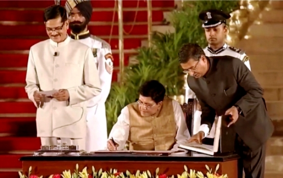 Piyush Goyal After Taking Oath As Cabinet Minister