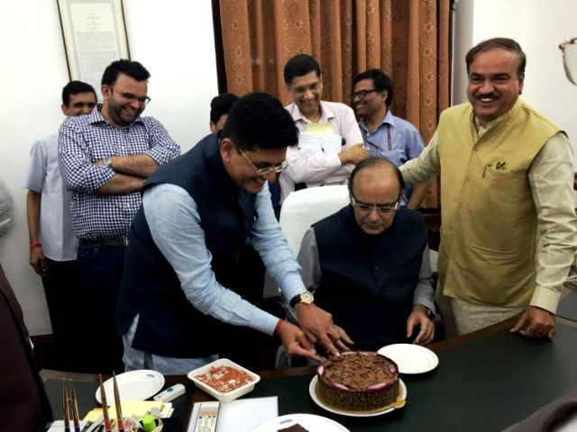 Piyush Goyal Welcomes Back Arun Jaitley