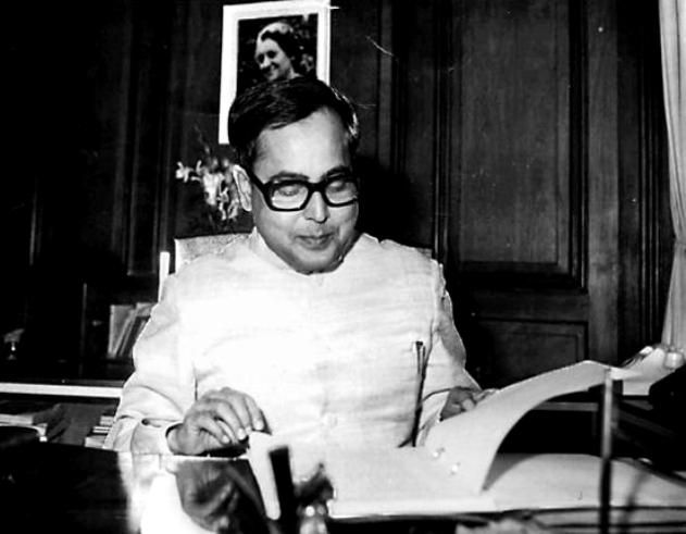 Pranab Mukherjee Before Presenting The Union Budget Of 1983