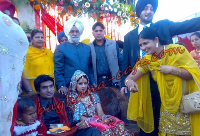 Preet Harpal's wedding picture