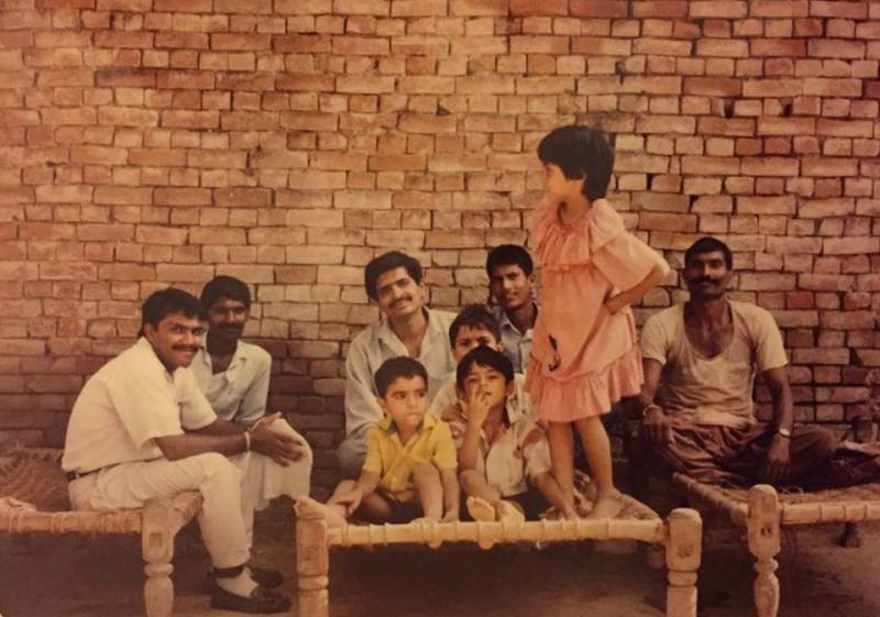 Richa Chadda In A Village With Her Father, Uncles And Brothers