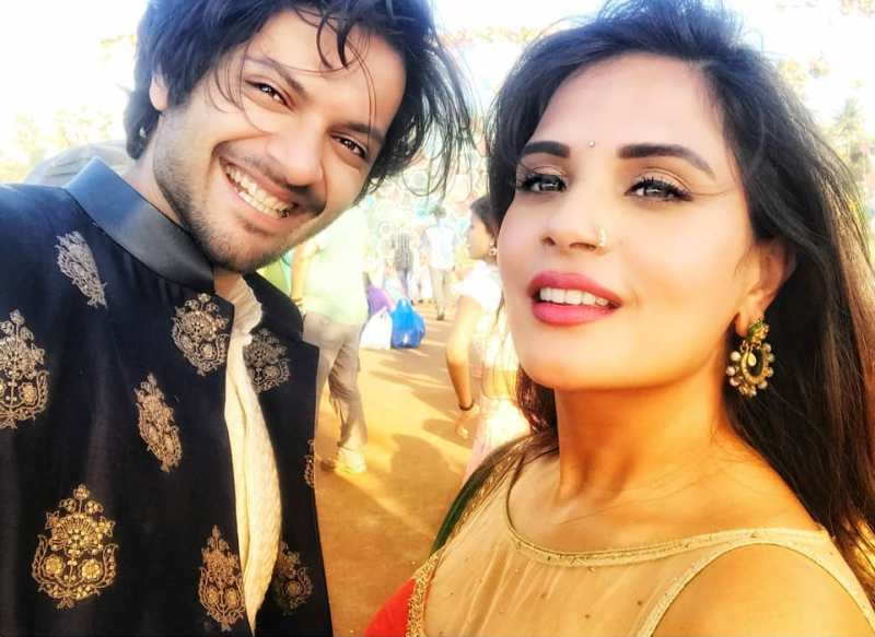 Richa Chadda With Ali Fazal