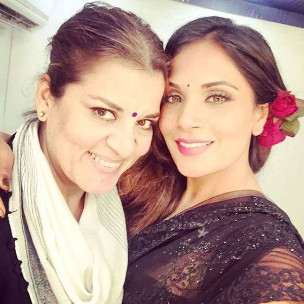 Richa Chadda With Her Sister
