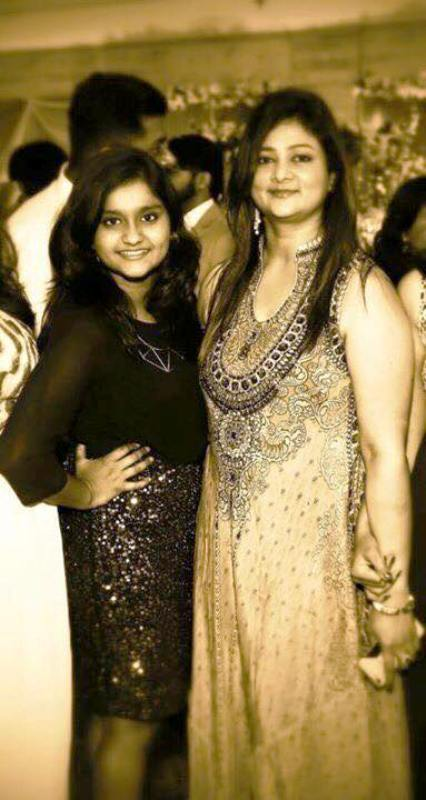 Shalini Yadav With Her Daughter