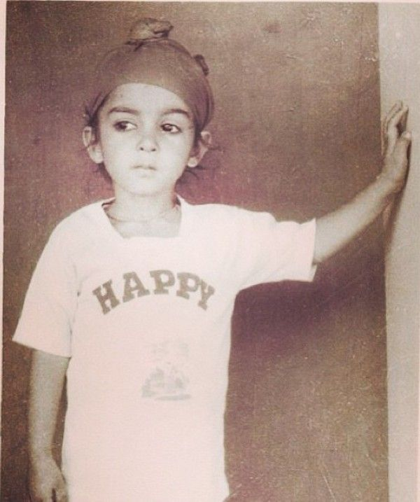 Sharry Mann childhood picture