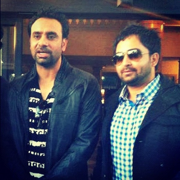 Sharry Mann with Babbu Mann