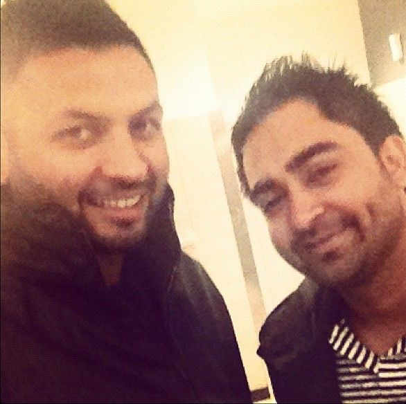Sharry Mann with his brother
