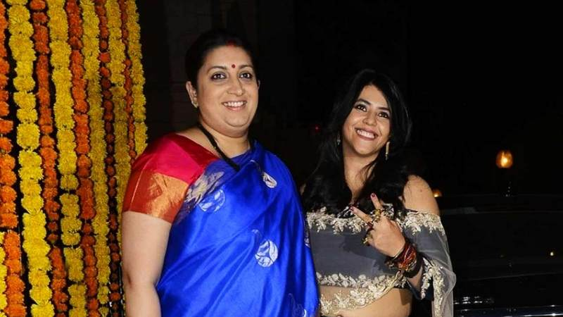 Smriti Irani And Ekta Kapoor