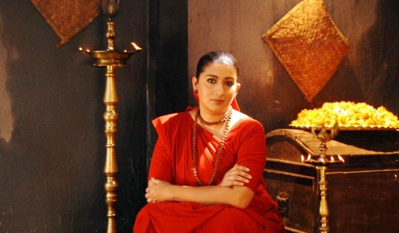 Smriti Irani In A Scene From Malik Ek