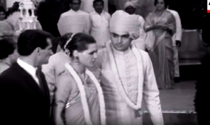 Sonia Gandhi And Rajiv Gandhi's Wedding