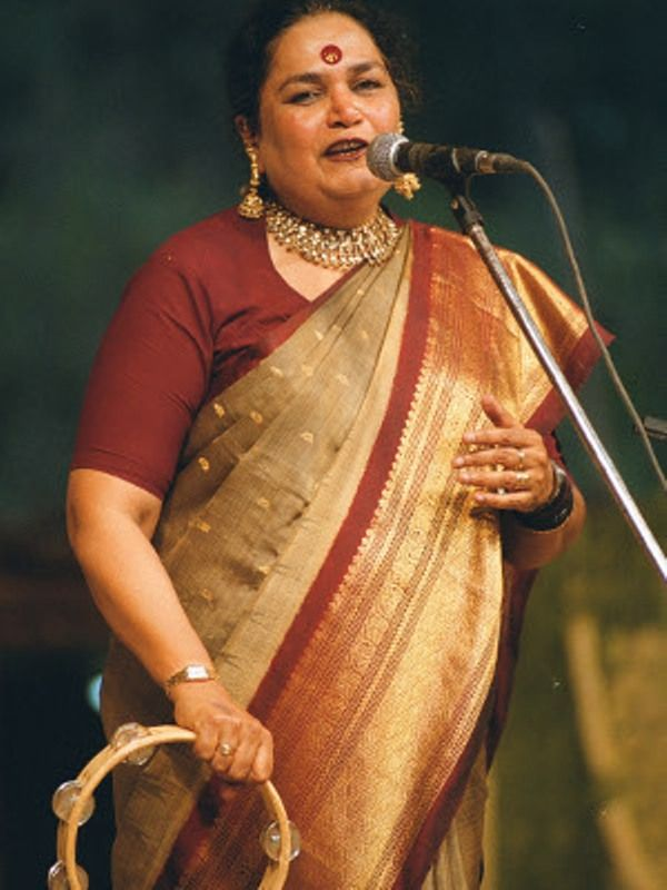 Usha Uthup In Her Signature Look