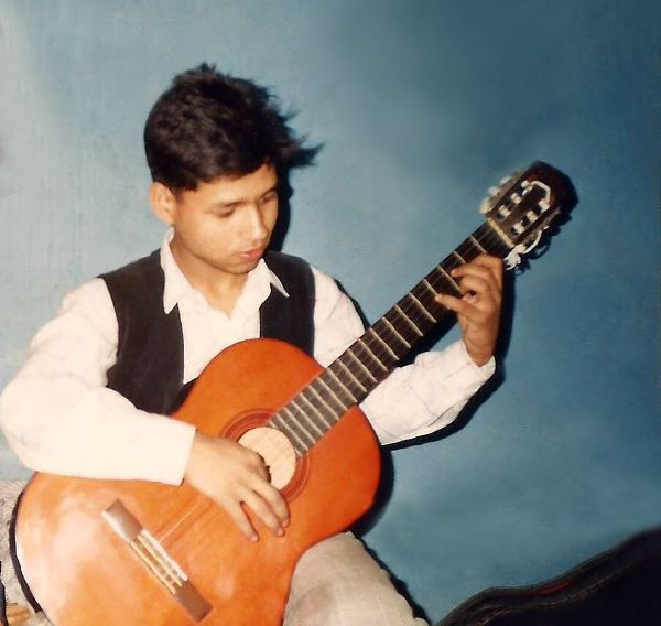Young Kailash Kher