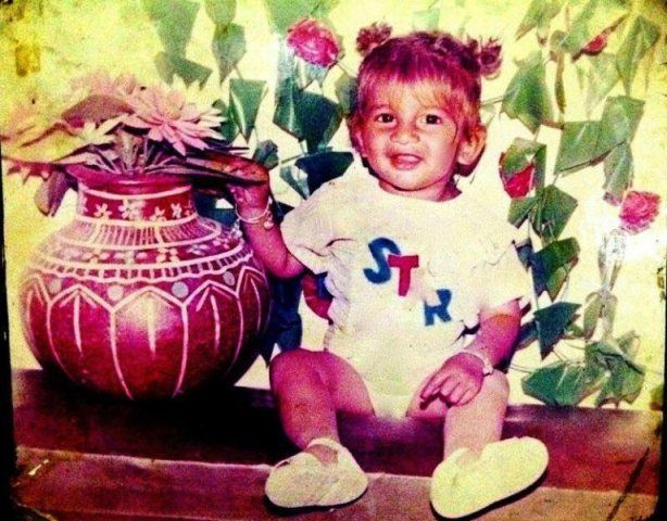 Yuvraj Hans' childhood picture