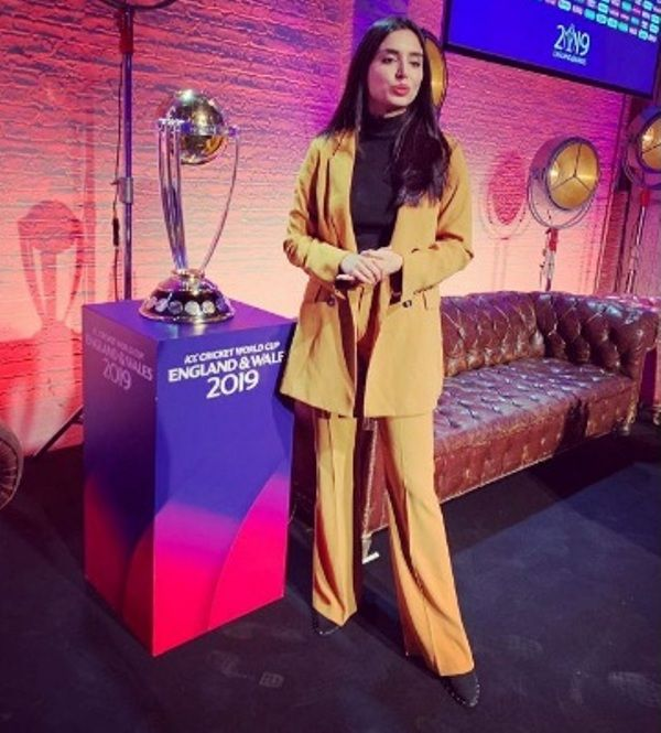 Zainab Abbas At World Cup 2019