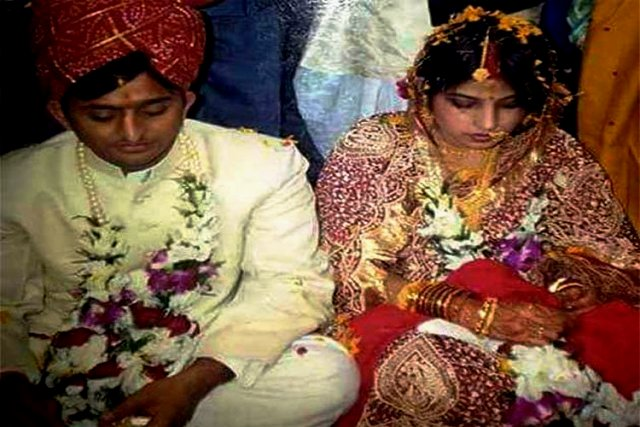 Akhilesh Yadav And Dimple Yadav's Wedding