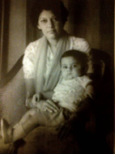 Cyrus Sahukar with his mother