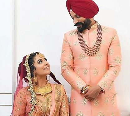 Dilpreet Dhillon's wedding image