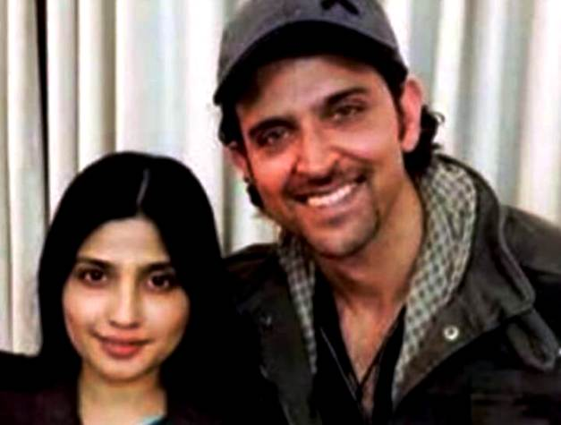 Dimple Yadav With Hrithik Roshan