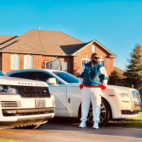 Elly Mangat with his Range Rover