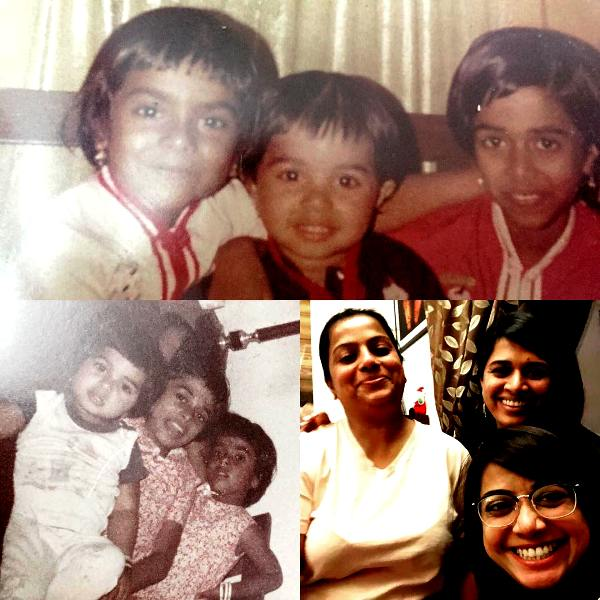 Faye D'Souza With Her Sisters