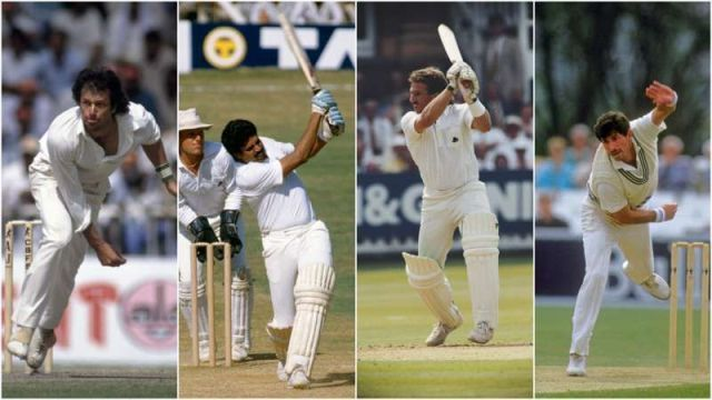 Four great all rounders of 1980s