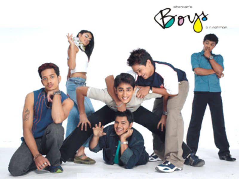 Genelia D' Souza's Debut Tamil Movie, Boys