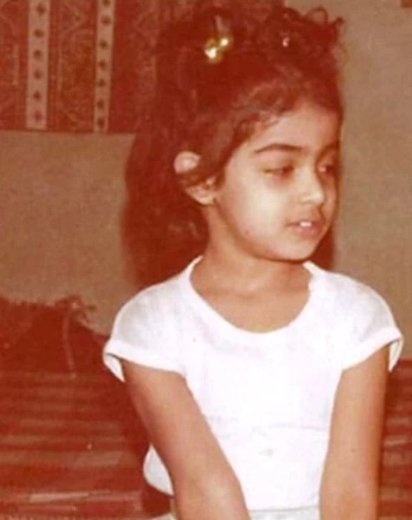 Genelia D'Souza As A Child